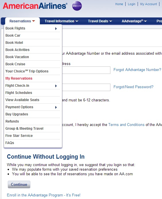 How To Book And Add Your Aadvantage To A British Airways