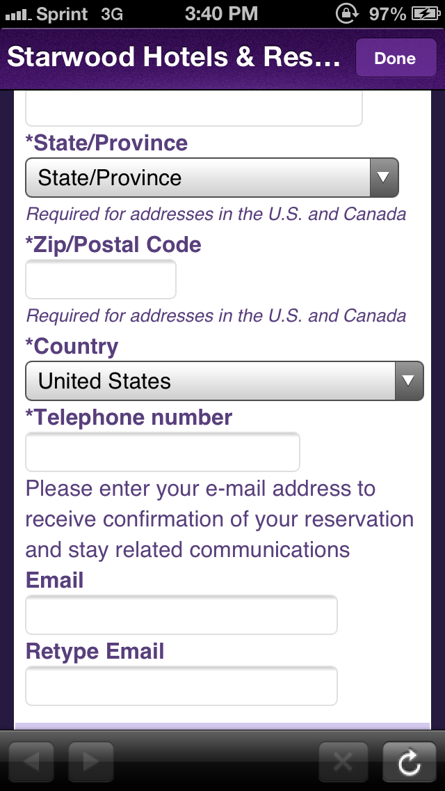 How To Receive Elite Benefits On A Starwood Third Party